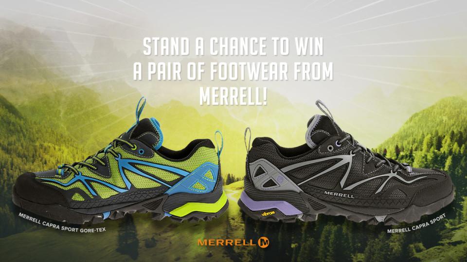 Win Your Pair Of Merrell Capra Sport Shoes!