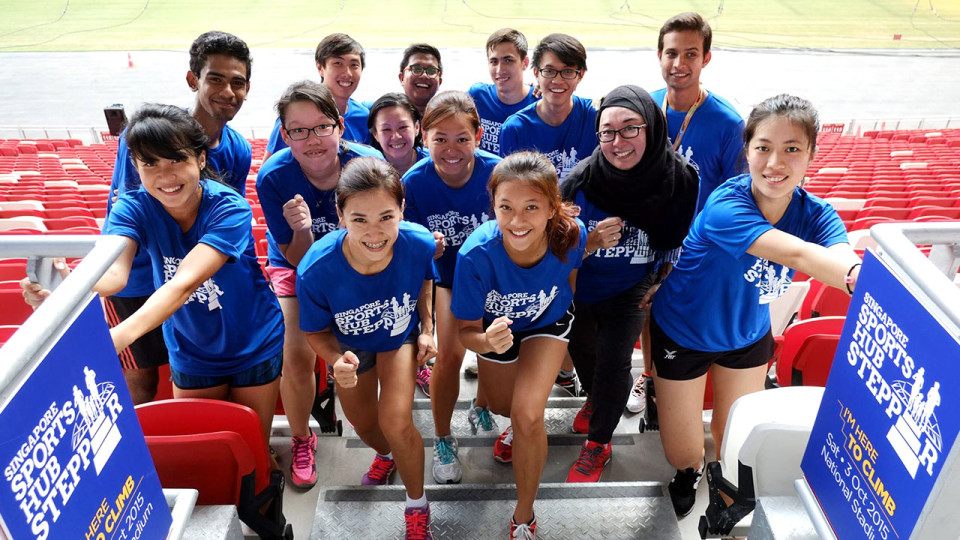 Are You Ready to Step Up to Singapore Sports Hub Stepper?