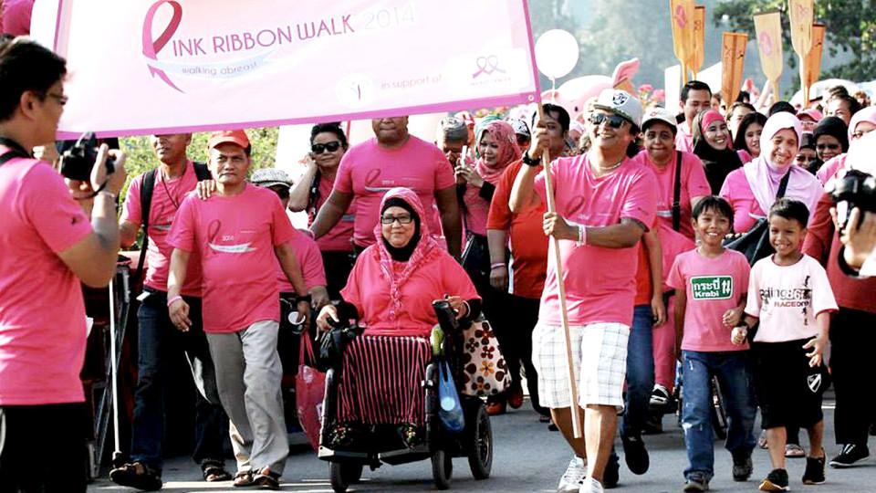 Pink Ribbon Walk 2015