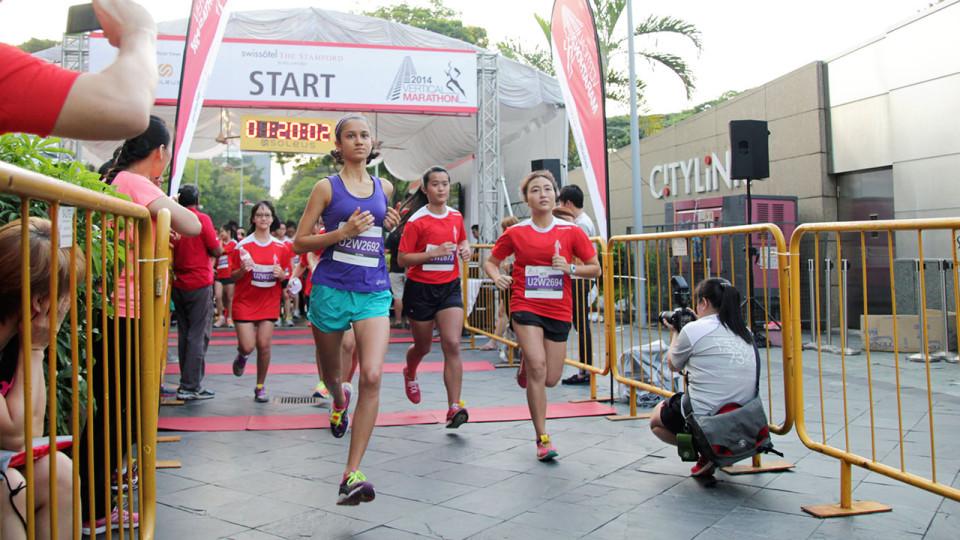 Swissôtel Vertical Marathon