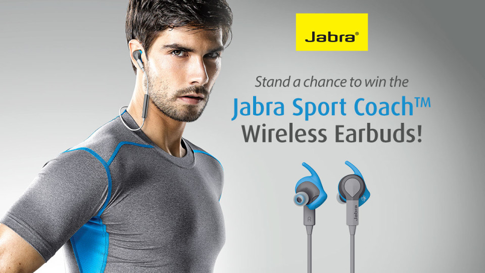 Stand a Chance to Win a Set of Jabra Sport Coach™ Wireless Earbuds!