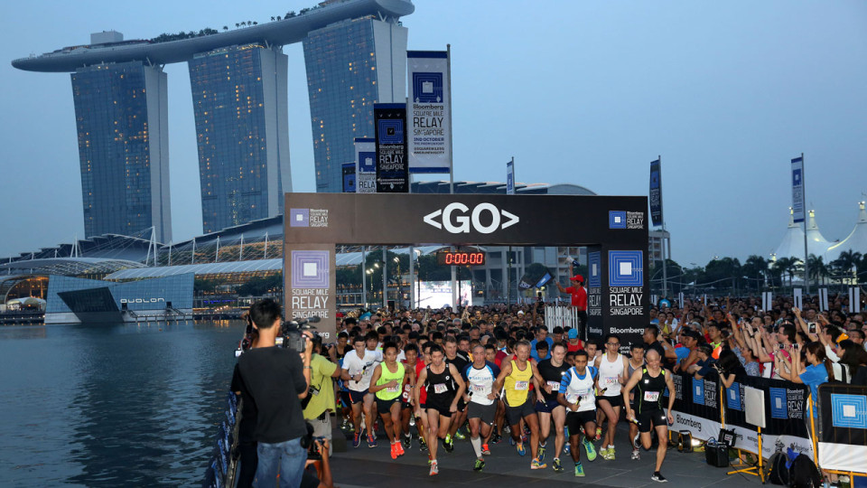 Bloomberg Square Mile Relay: Back in Singapore after 2014 Sell Out Event