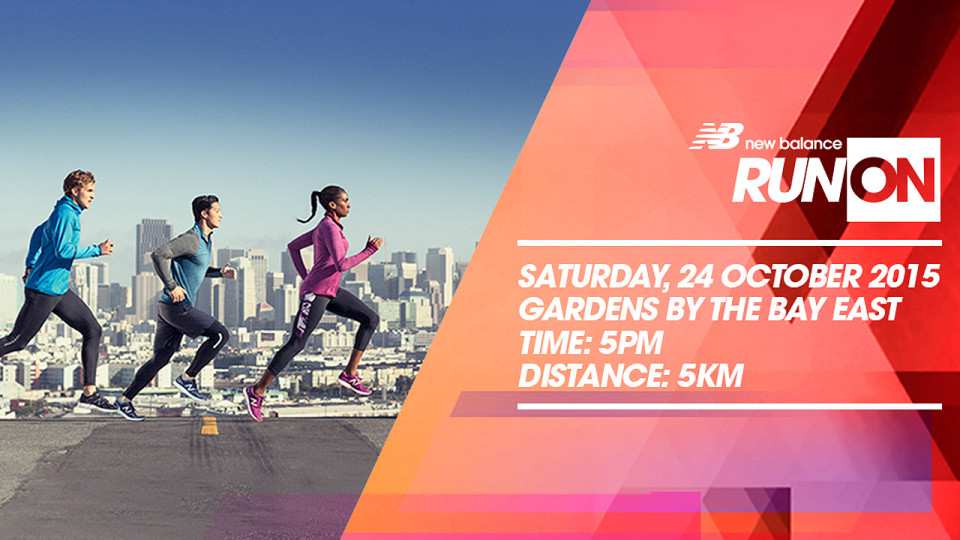 New Balance Run On Singapore 2015: A Challenge for All Runners, Rookies or Pros