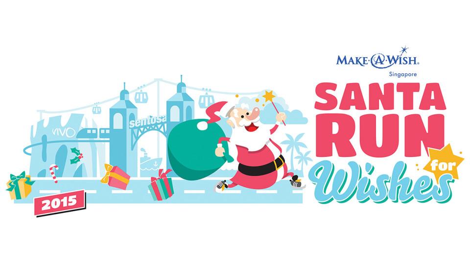 Santa Run for Wishes 2015