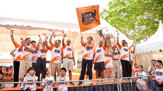 "Photos: Orange Ribbon Run & Walk – ""Race Against Racism"" 2015"