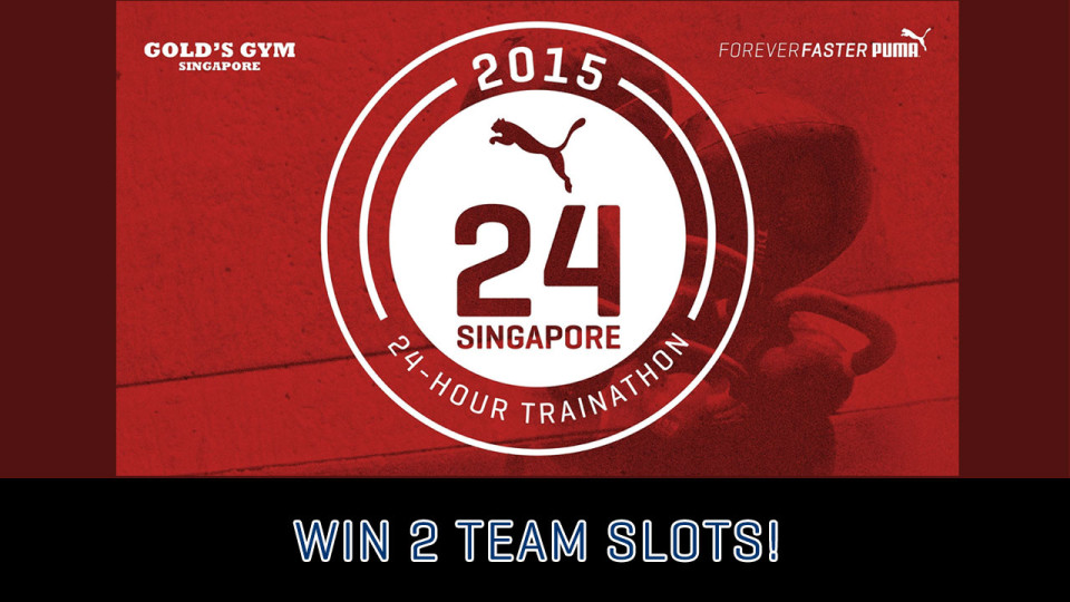 PUMA Ignite XT Trainathon 2015: Win 2 Slots of Team Entries!