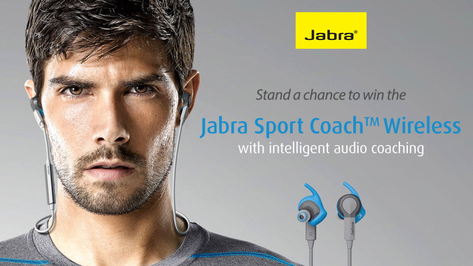Stand a Chance to Win 1 More Set of Jabra Sport Coach™ Wireless Earbuds!
