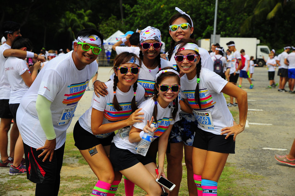 The Color Run™ Singapore: Bright Colours and Grins at The Happiest 5K on the Planet