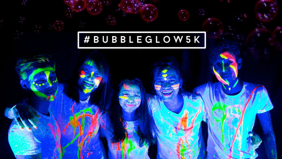 BUBBLE GLOW 5K: Asia's First Ever UV Bubble Run