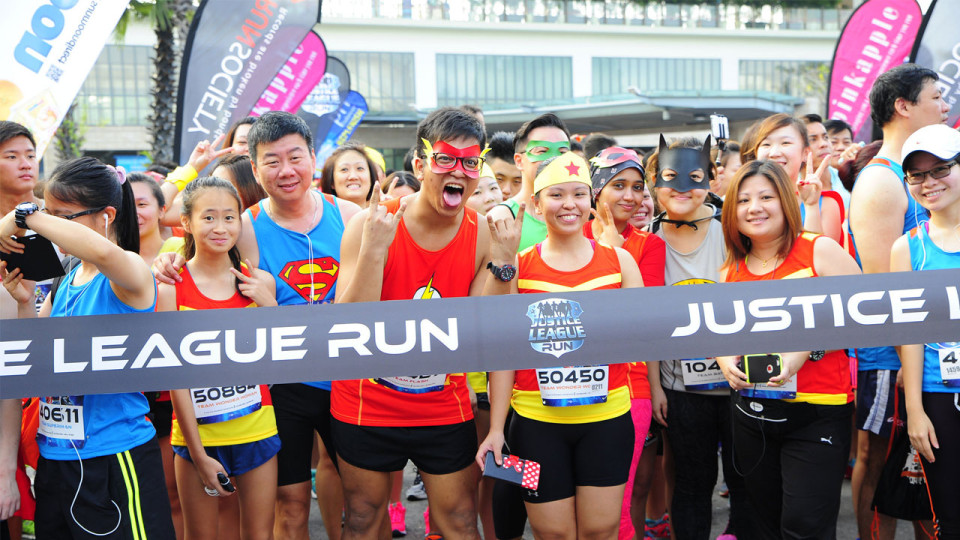 DC Justice League Run 2015: The Ultimate Superhero Showdown