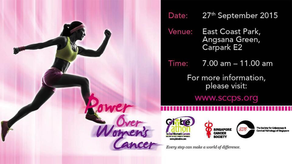 Globe-athon Power Over Women's Cancer Run 2015