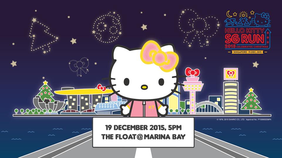 Hello Kitty SG Run 2015