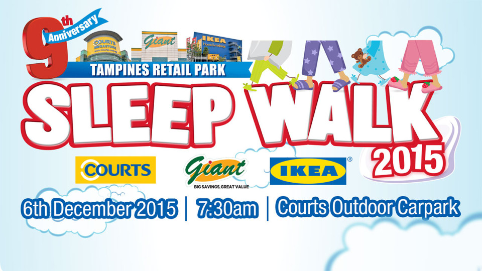 Tampines Retail Park Sleep Walk 2015
