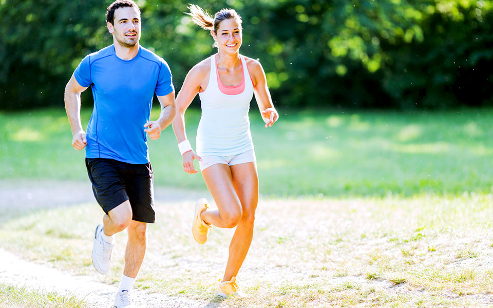 Today's Popular Motion Sports: Power Walking, Jogging, Running and Sprinting