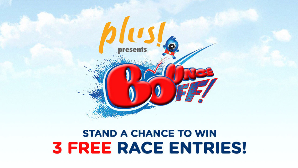 BounceOFF! 2015: Win 3 Slots of Race Entries!