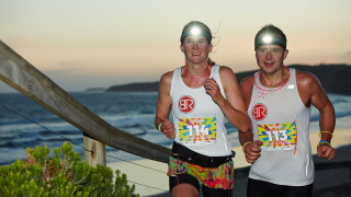 Light Up Surf Coast Walk with the Black Diamond Afterglow Night Trail Run