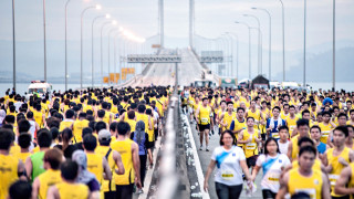 Penang Bridge International Marathon 2015: Panoramic Views from World's Third Longest Bridge