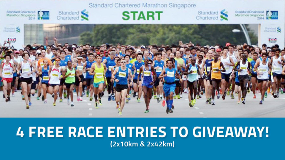 Standard Chartered Marathon Singapore 2015: Win 4 Slots of Race Entries!