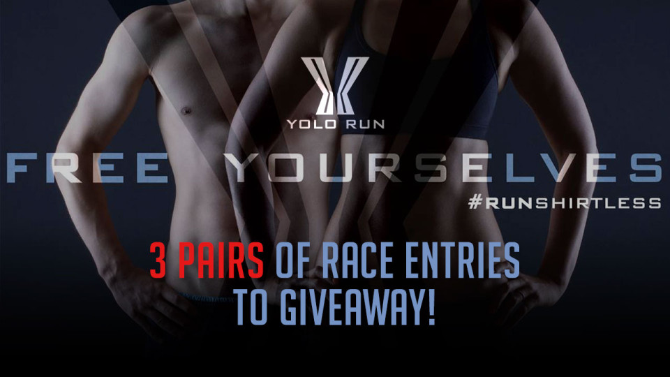 Yolo Run 2015: Win 3 Pairs of Race Entries!