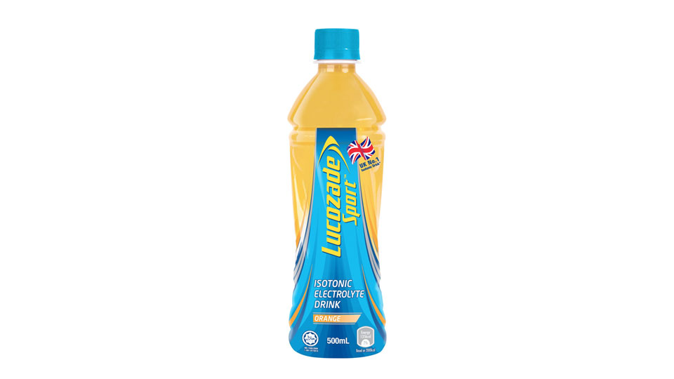 Lucozade 'Sport' Drink Hits Stores in Singapore