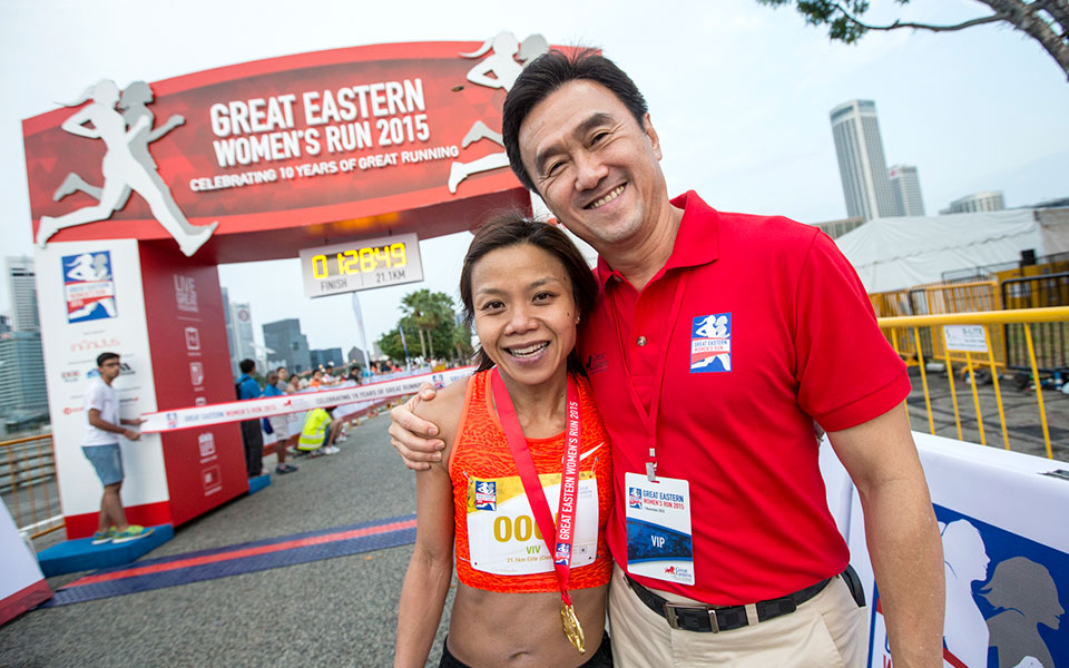 Record 17,000 at 10th Great Eastern Women's Run