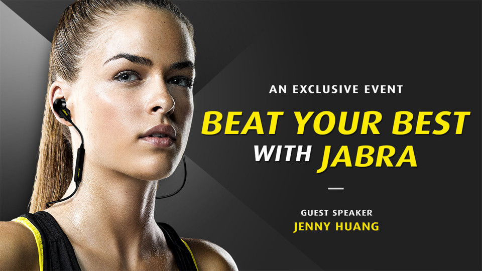 Special Event: Running with Jenny Huang, Top Athlete and Physiotherapist