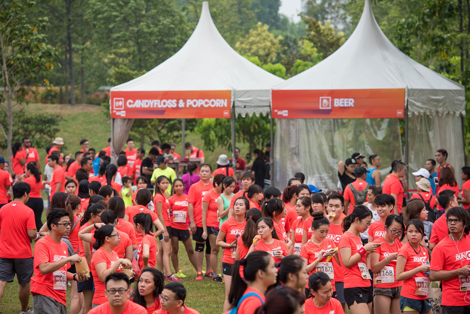 Inaugural New Balance Run On Singapore 2015: More Than 4,000 Strong