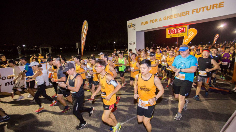 Run For A Greener Future with the 2016 Edition of RUN 350