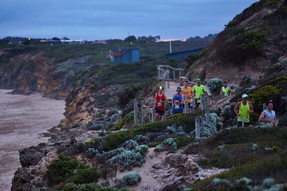 Surf Coast Walk Shines in the Afterglow of a Night Trail Run