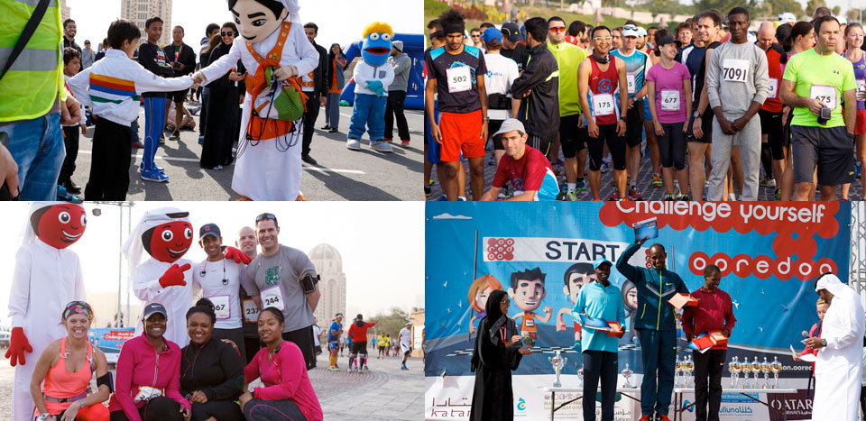 Best Time to Visit Qatar? Join Ooredoo Marathon 2016!