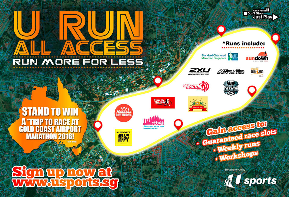 U Run All Access Package is the Gift You Give Yourself!