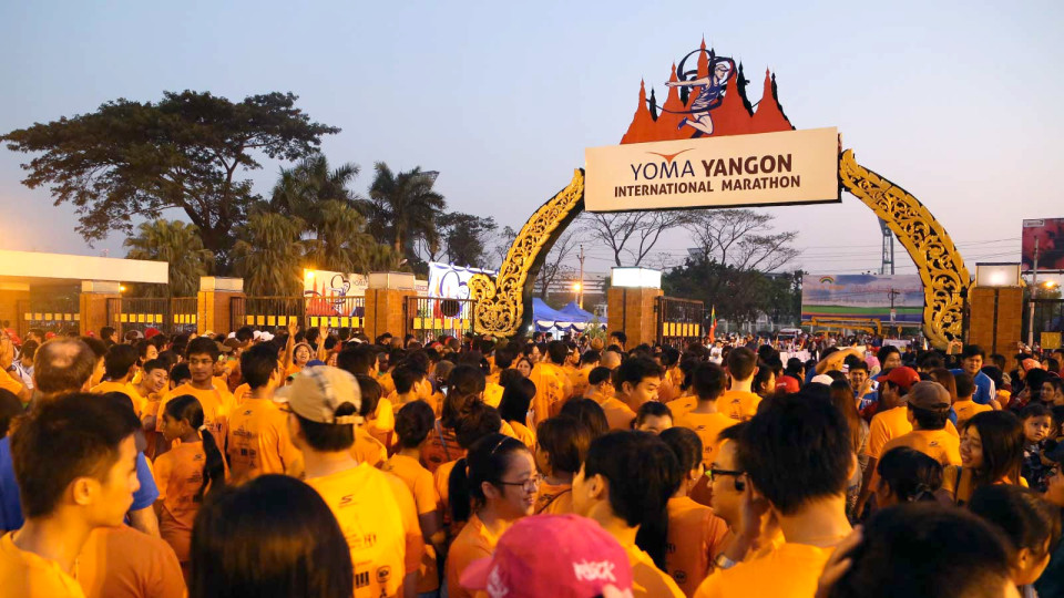 Yoma Yangon International Marathon 2016: Myanmar's Largest Running Fiesta