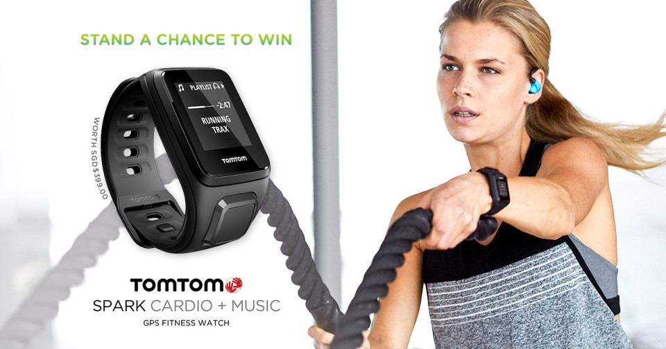 Win a TomTom Spark Cardio+Music GPS Fitness Watch!