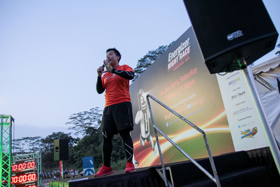 Have You Heard of the Voice of Singapore's Running Events?