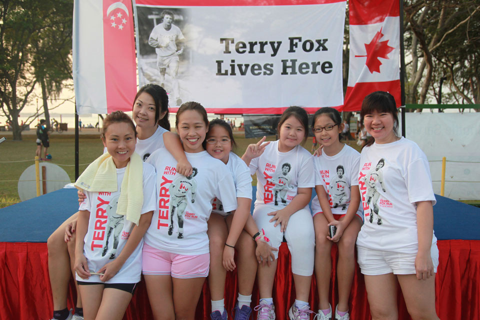 Terry Fox Run Singapore 2016