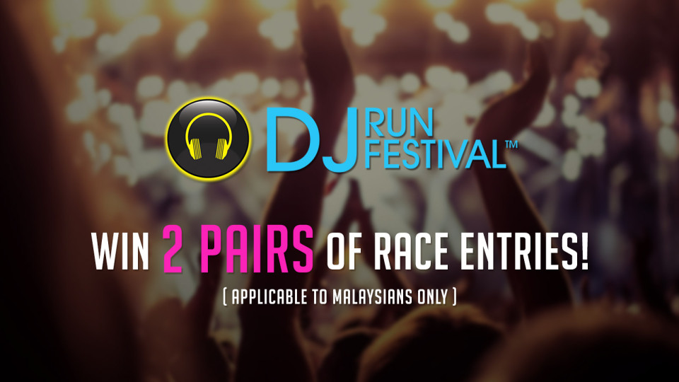 DJ Run Festival 2016: Win 2 Pairs of Free Entries