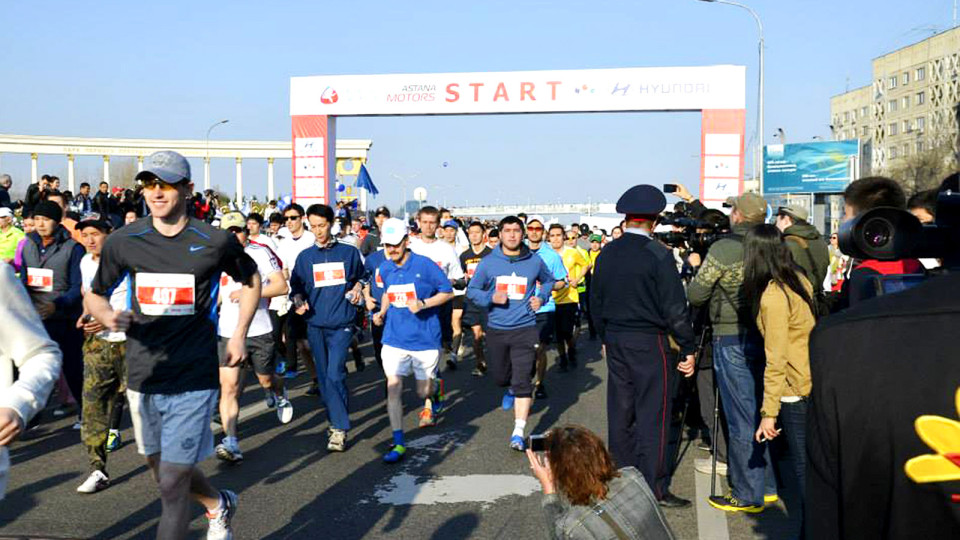 Almaty Marathon: Do You Have The Courage To Be The First?