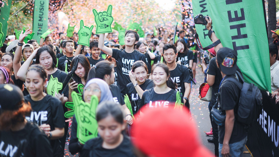 The Music Run by AIA 2016