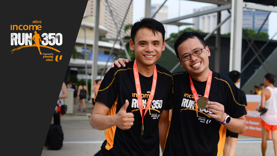 NTUC Income RUN 350 2016: Win 4 Pairs of Race Entries!