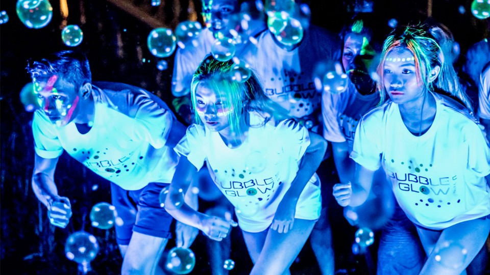 Ready to Light up the Night at Singapore First Bubble Glow 5k?