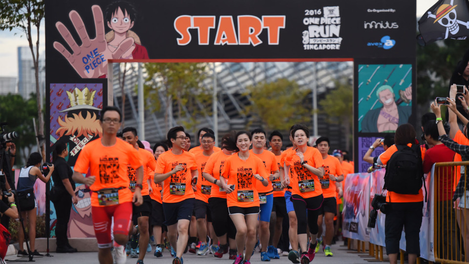 One Piece Run 2016: Are You One of Singapore's First Ever Pirate Kings?