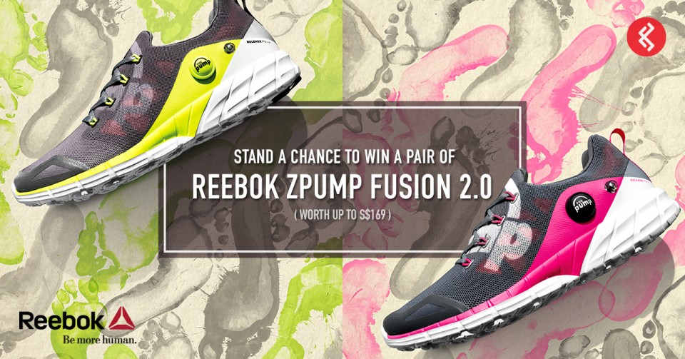 Reebok ZPump Fusion 2.0: Win a Pair Today!
