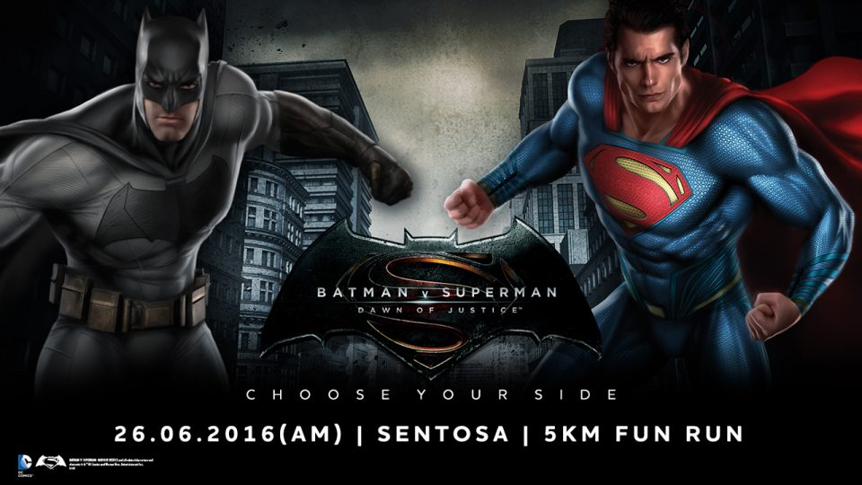 Batman V Superman Run 2016