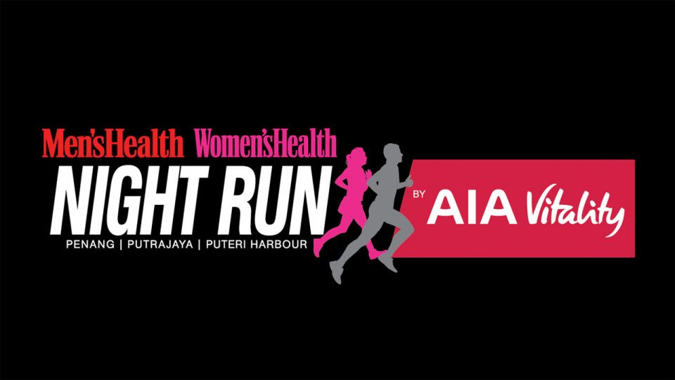 Men's Health Women's Health Night Run by AIA Vitality - Johor