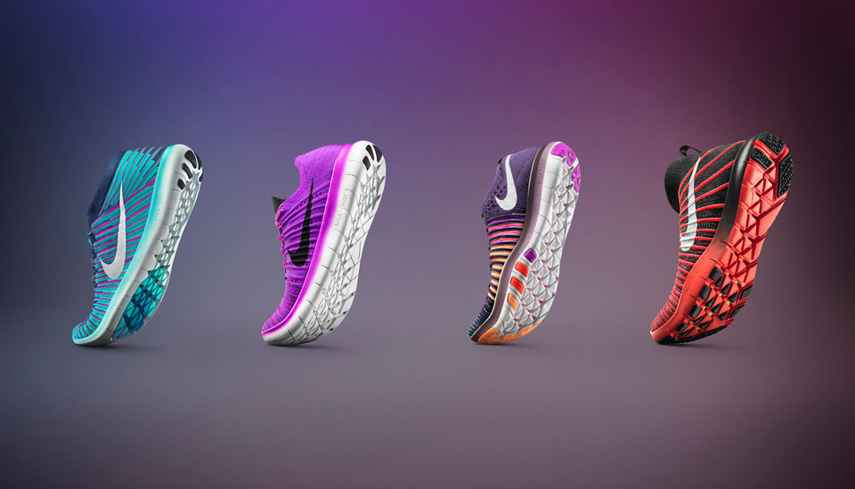 5 New Nike Free Footwear For Running & Training