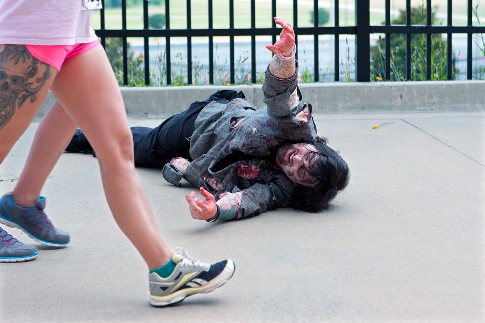 How Runners Can Survive a Zombie Attack!
