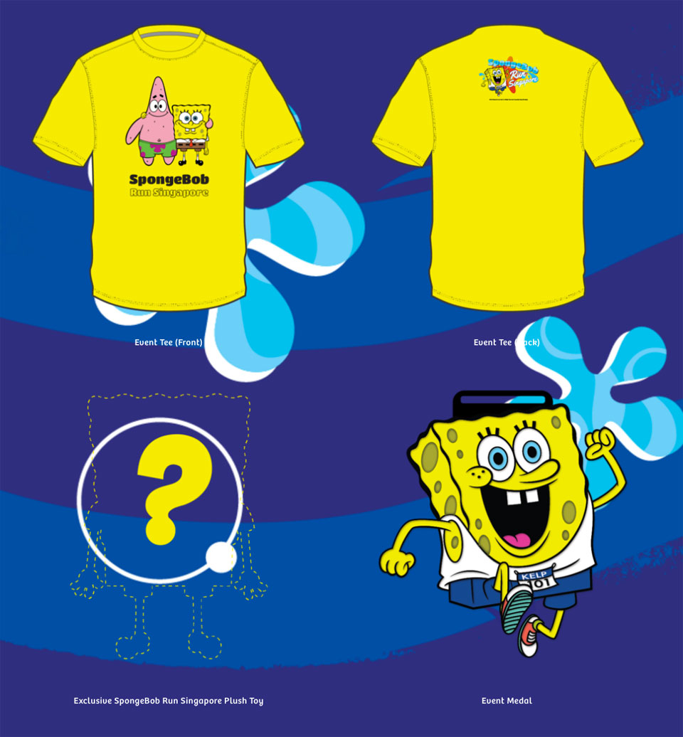 SpongeBob Run Singapore Race Entitlements
