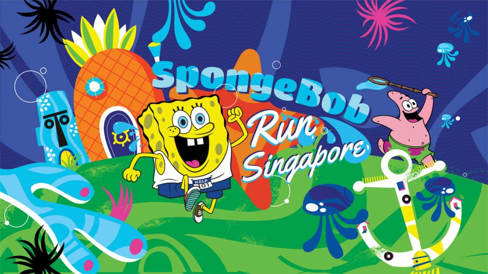 SpongeBob Run Singapore 2016