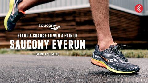 Saucony EVERUN: Win a Pair Today!
