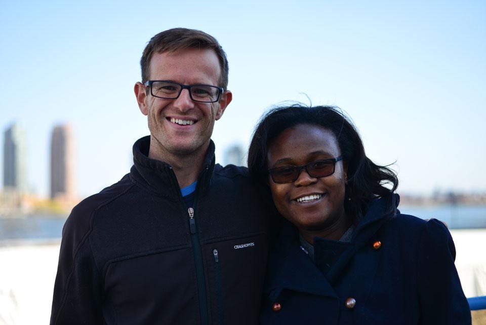 (Left) Weldon Kennedy and Navalayo (Nava) Osembo-Ombati.